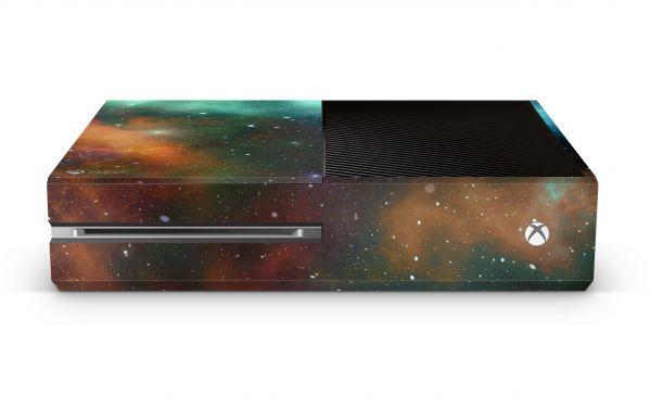 Xbox One Skin Design Aufkleber Schutzfolie Motiv Universe