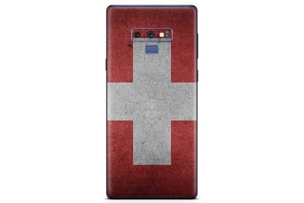 Samsung Galaxy Note 9 Skin Design Aufkleber - schweiz