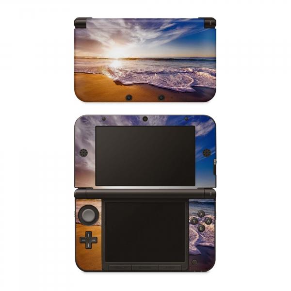 Nintendo 3DS XL Skin Aufkleber Design Schutzfolie California Dream