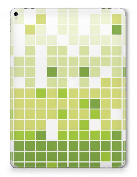 Apple iPad 7 (2019) Skin Aufkleber Schutzfolie Design Mosaik Green