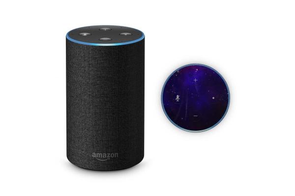 Amazon Echo Skin 2.Generation Schutzfolie Space Woman