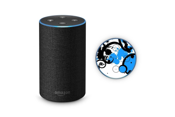 Amazon Echo Skin 2.Generation Schutzfolie Simple Blue