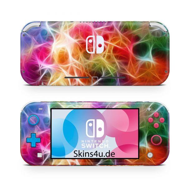Nintendo Switch Lite Front & Back Skin Aufkleber Schutzfolie Braided