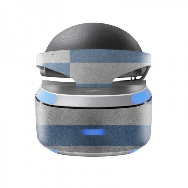 Sony Playstation VR Skin PS4 Design Aufkleber Griechenland