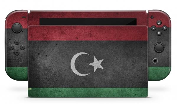 Nintendo Switch Skins Aufkleber Design Schutzfolie Set Lybien