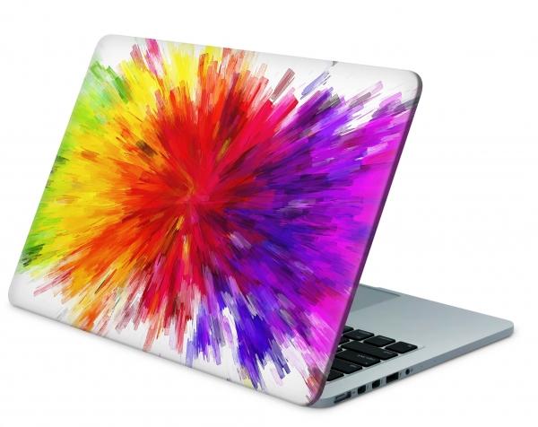 Universal Laptop Aufkleber Skin Netbook Designfolie - Color Diffusion