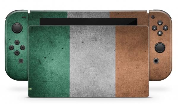 Nintendo Switch Skins Aufkleber Design Schutzfolie Set Irland