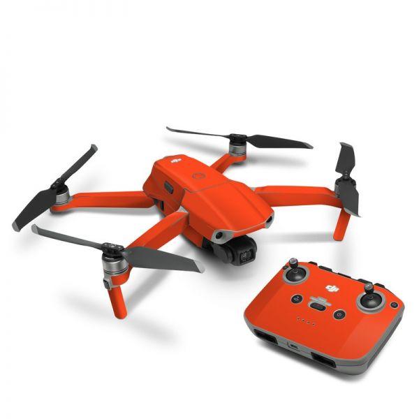 DJI Mavic Air 2 Skin Aufkleber Schutzfolie Drohnen Skins Vinyl Folie fluoreszierend neon orange