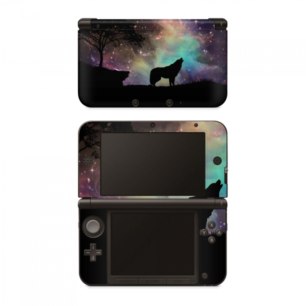 Nintendo New 3DS XL Skin Aufkleber Design Schutzfolie Howling to the Stars