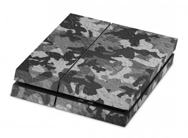 Playstation 4 Skin Designfolie Sticker Set PS4 Motiv - Urban Camo Crumble