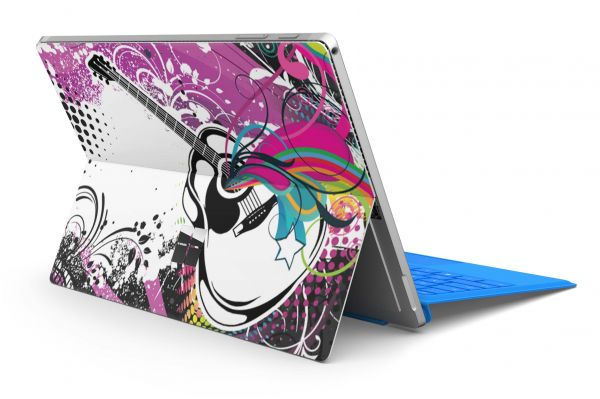 Microsoft Surface Pro 6 Skin Premium Aufkleber Schutzfolie 80s