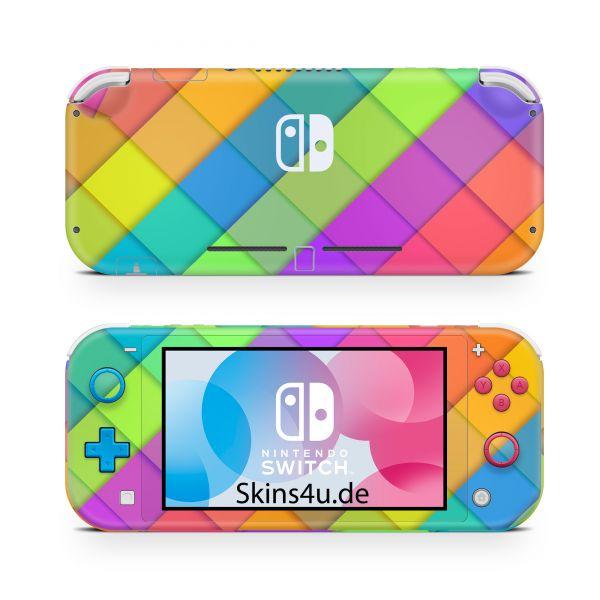 Nintendo Switch Lite Front & Back Skin Aufkleber Schutzfolie Sam