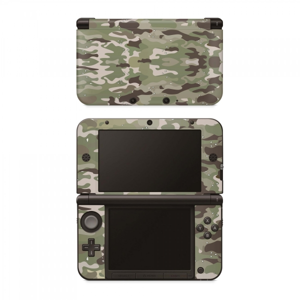 Nintendo New 3DS XL Skin Aufkleber Design Schutzfolie FC Camo