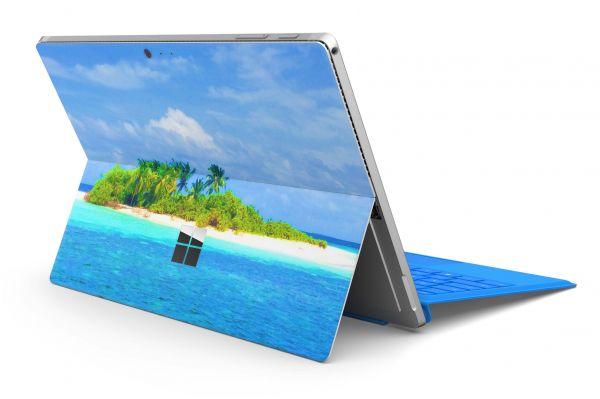 Microsoft Surface Pro 6 Skin Premium Aufkleber Schutzfolie Malediven