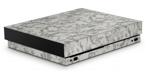 Xbox One X Schutzfolie Skin Aufkleber Design - Acu Camo