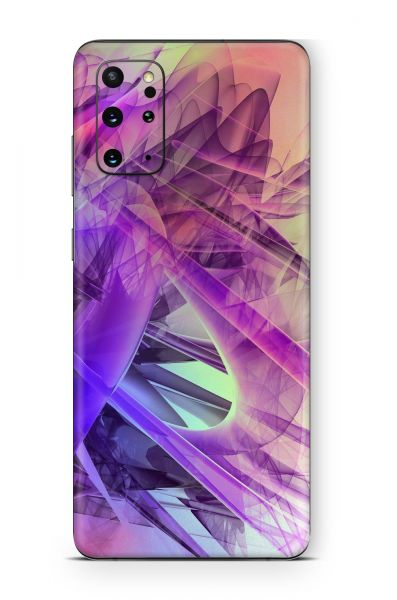 Samsung Galaxy M21 Skin Aufkleber Design Schutzfolie Colorful glass