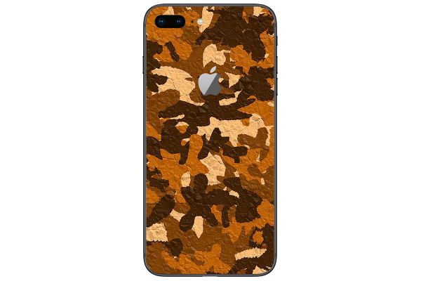 Apple iPhone 6 Aufkleber Designfolie - desert-camo-crumble