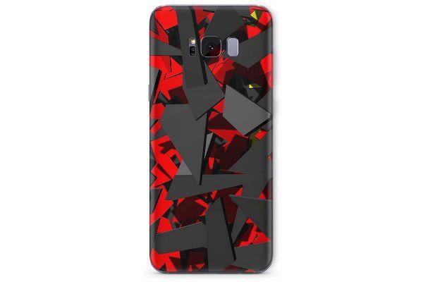 Samsung Galaxy S8 Skin Design Aufkleber - splatter-german