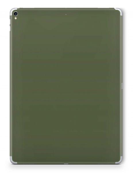 Apple iPad Mini 1 Skin Aufkleber Schutzfolie Design Solid State Olive