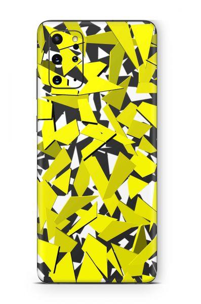 Samsung Galaxy M21 Skin Aufkleber Design Schutzfolie Signal yellow