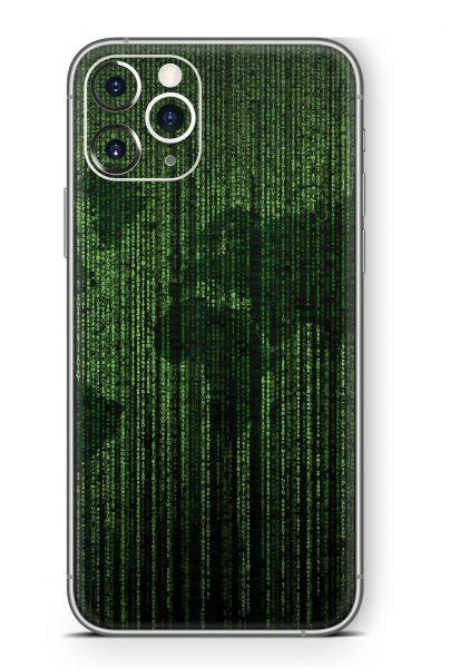 Apple iPhone 11 Pro Skin Design Schutzfolie Aufkleber Matrix