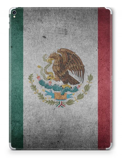 Apple iPad Pro 12,9 2.Generation 2017 Skin Aufkleber Schutzfolie Design Mexico