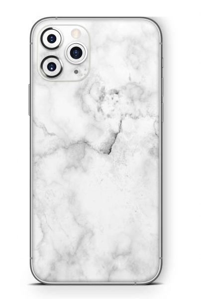 Apple iPhone 11 Pro Skin Design Schutzfolie Aufkleber Marmor White