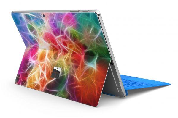 Microsoft Surface Pro 7+ Skin Premium Aufkleber Schutzfolie Braided