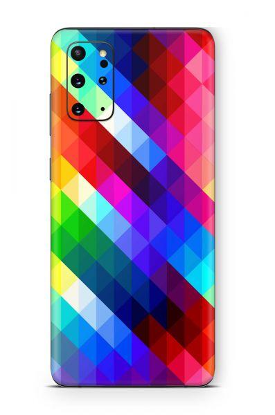Samsung Galaxy A51 Skin Aufkleber Design Schutzfolie Geo