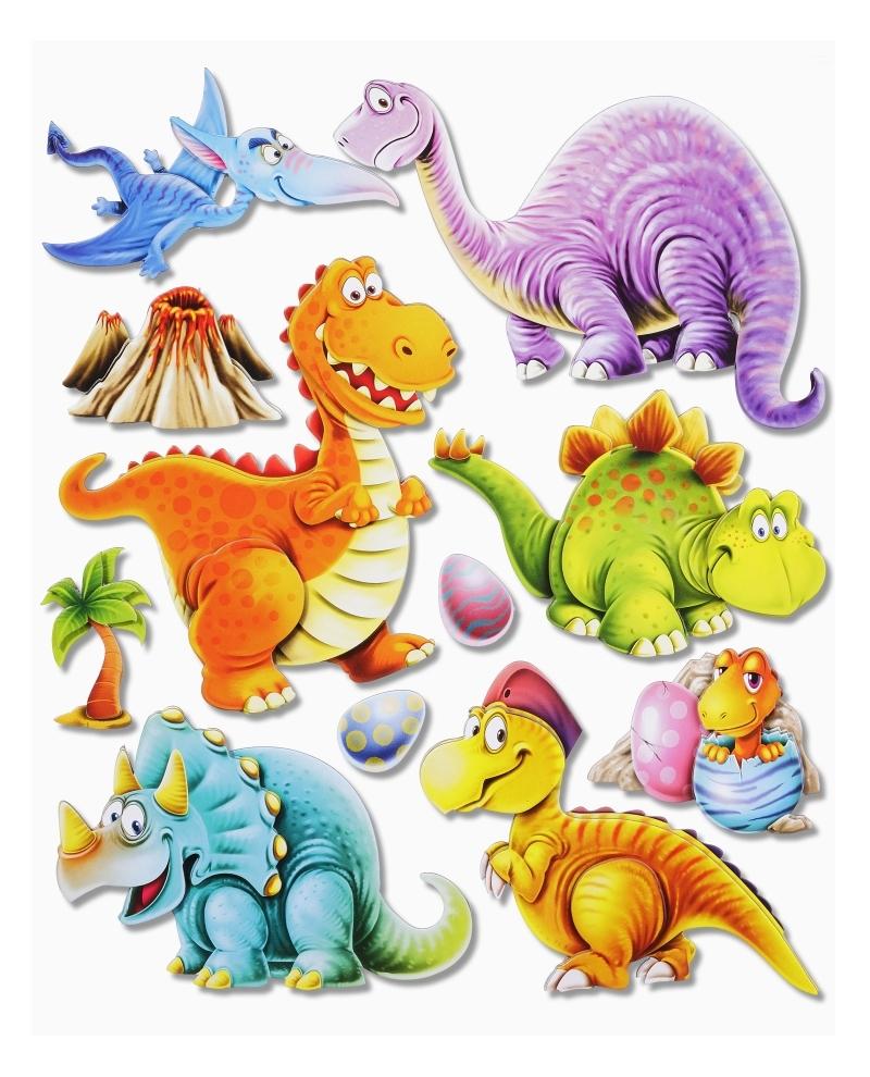 Wandtattoo Wandsticker Dinosaurier Set 1 Kinderzimmer Skins4u