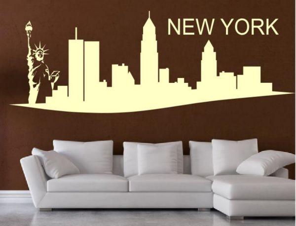 Wandtattoo Skyline New York Motiv 2