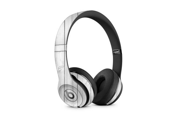 Beats Solo 3 Wireless Skin Design Aufkleber Schutzfolie White Wood