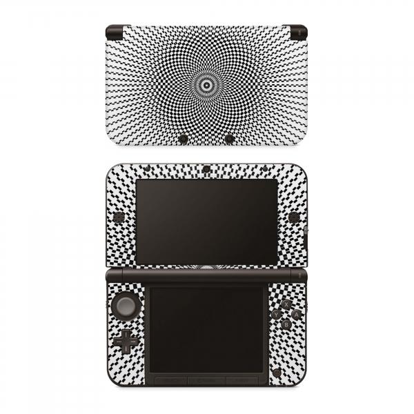 Nintendo 3DS XL Skin Aufkleber Design Schutzfolie Hypnotic