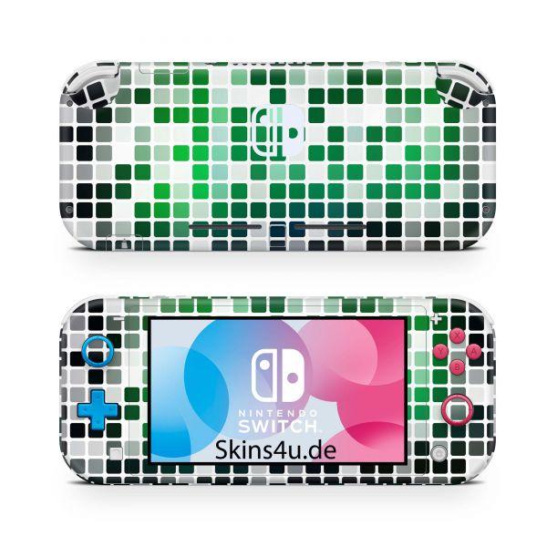 Nintendo Switch Lite Front & Back Skin Aufkleber Schutzfolie Glowing lable 05