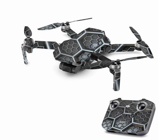 DJI Mavic Mini 2 Skin Aufkleber Wraps Skins Design Folie Wasp