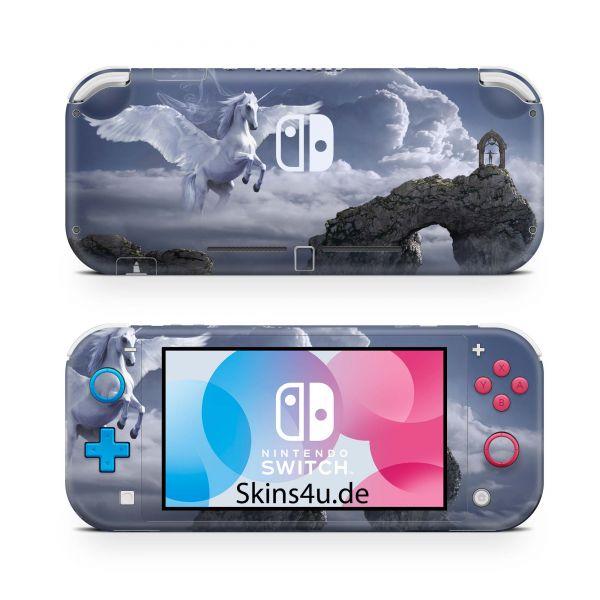 Nintendo Switch Lite Front & Back Skin Aufkleber Schutzfolie Pegasus
