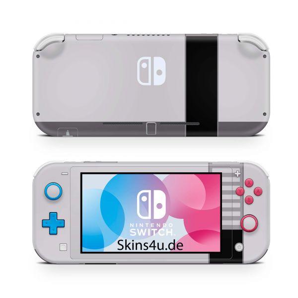 Nintendo Switch Lite Front & Back Skin Aufkleber Schutzfolie Retro SNES