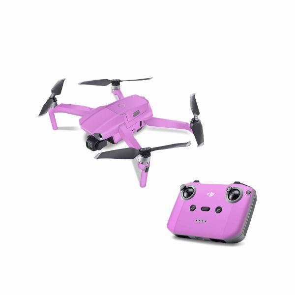 DJI Mavic Air 2 Skin Aufkleber Schutzfolie Drohnen Skins Vinyl Folie fluoreszierend neon pink