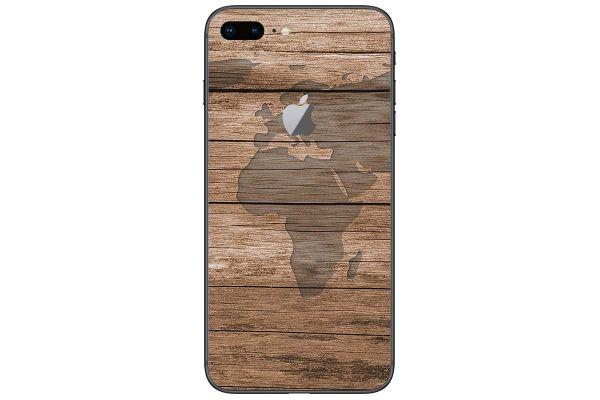 Apple iPhone 7 Aufkleber Designfolie - wood-world