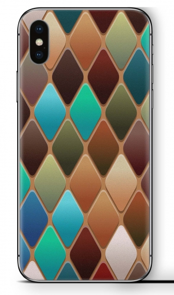 Apple iPhone XR Skin Aufkleber Design Schutzfolie Tabe Dark