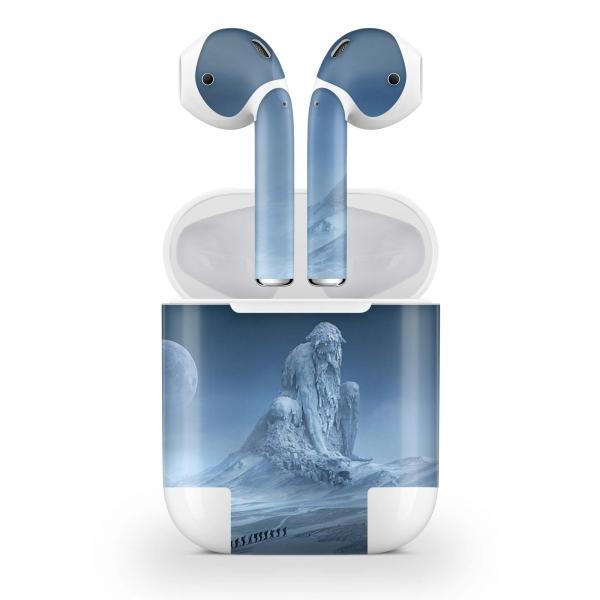 Apple AirPods Skin Aufkleber Design Vinyl Skins Schutzfolie ( 2.Generation ) Frozen Giant