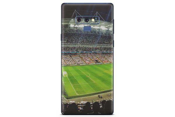 Samsung Galaxy Note 9 Skin Design Aufkleber - fussball-stadion