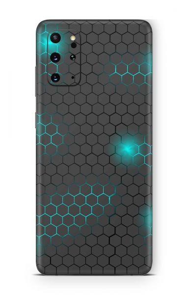 Samsung Galaxy Note 20 Skin Design Schutzfolie Exo small blue