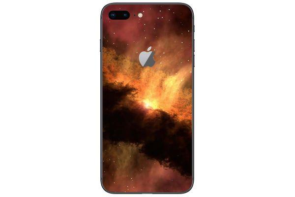 Apple iPhone 5S SE Skin Aufkleber Designfolie - solar-storm