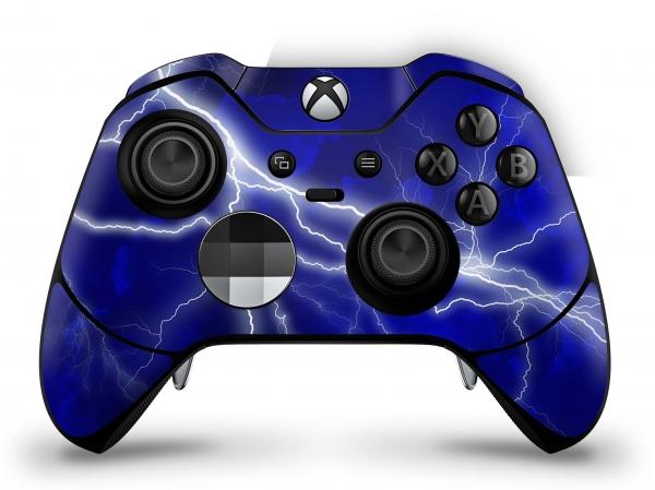 Microsoft Xbox One Elite Controller Skin Aufkleber Design Schutzfolie - Apocalypse Blue