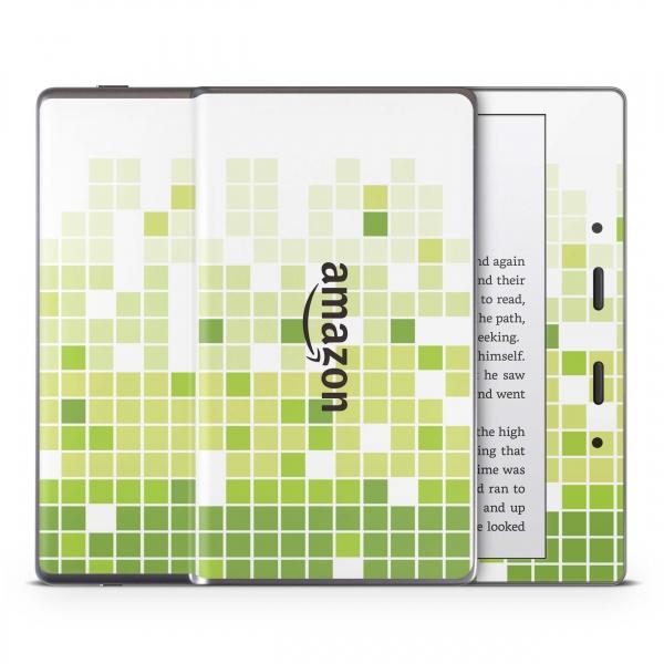 Amazon Kindle Oasis ab 2017 Schutzfolie Skin Aufkleber Design - Mosaik Green