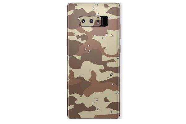 Samsung Galaxy Note 8 Skin Design Aufkleber - desert-camo