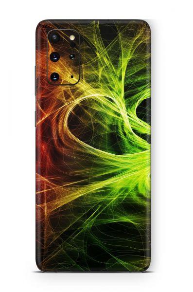Samsung Galaxy M21 Skin Aufkleber Design Schutzfolie Particles