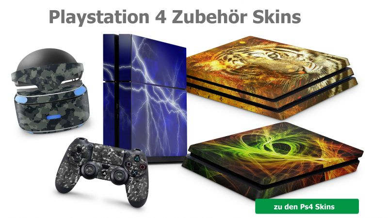 Playstation 4 Skins
