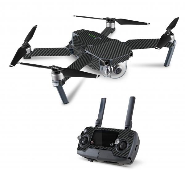 DJI Mavic 2 Enterprise Drohnen Skins Aufkleber Folien Set Carbon